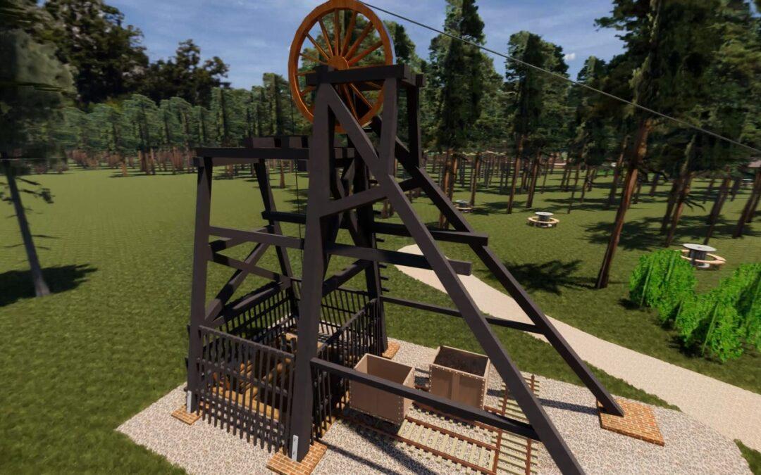 Rekonstrukcja wieży górniczej